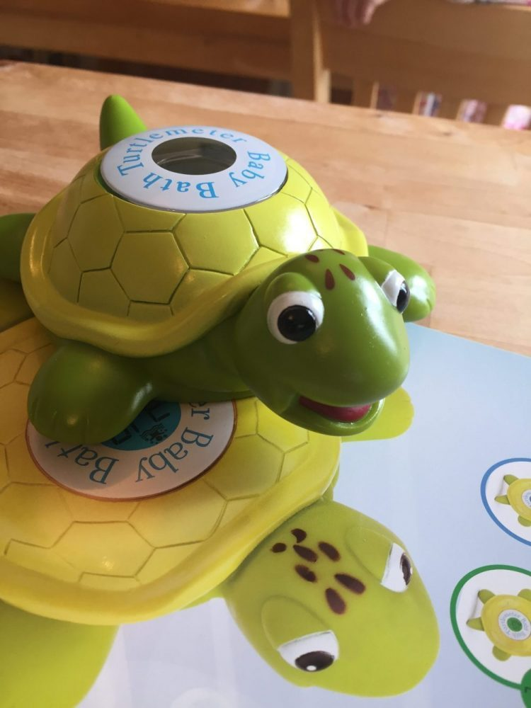 Turtlemeter Bath Toy & Thermometer Review