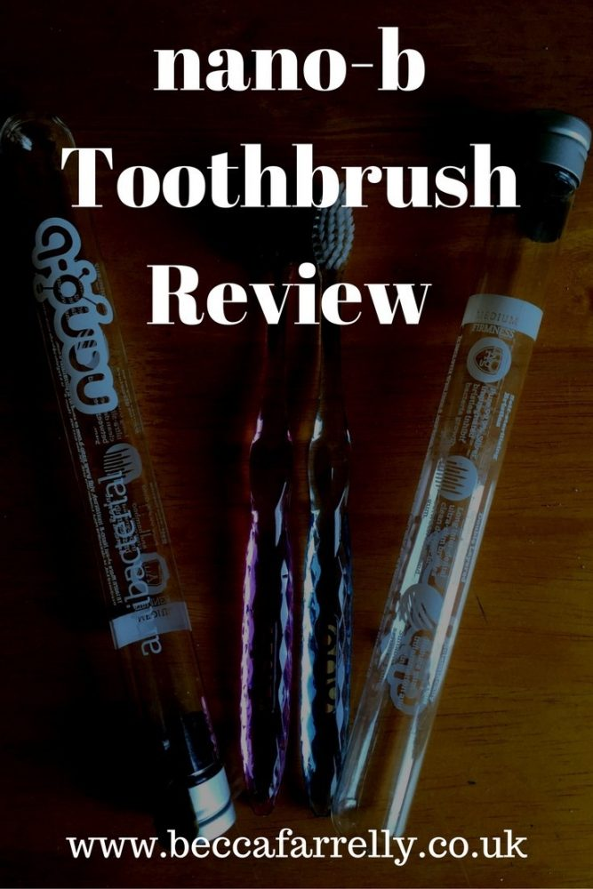 nano-b Toothbrush Review