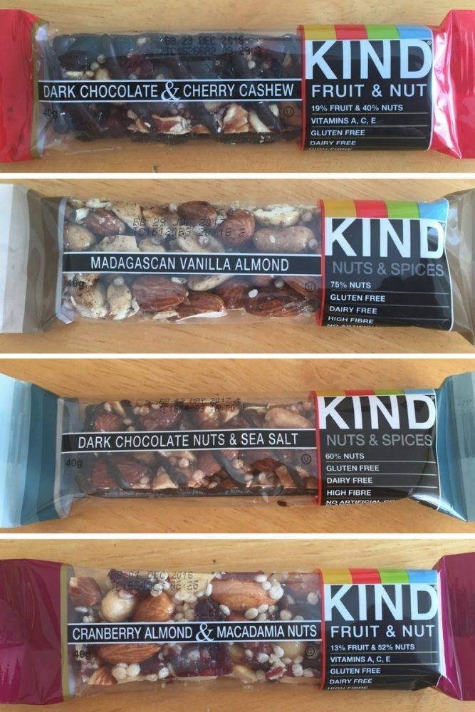 Packaged bars