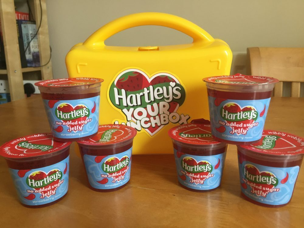 Lunchbox Fillers with Hartley's Jelly Pots