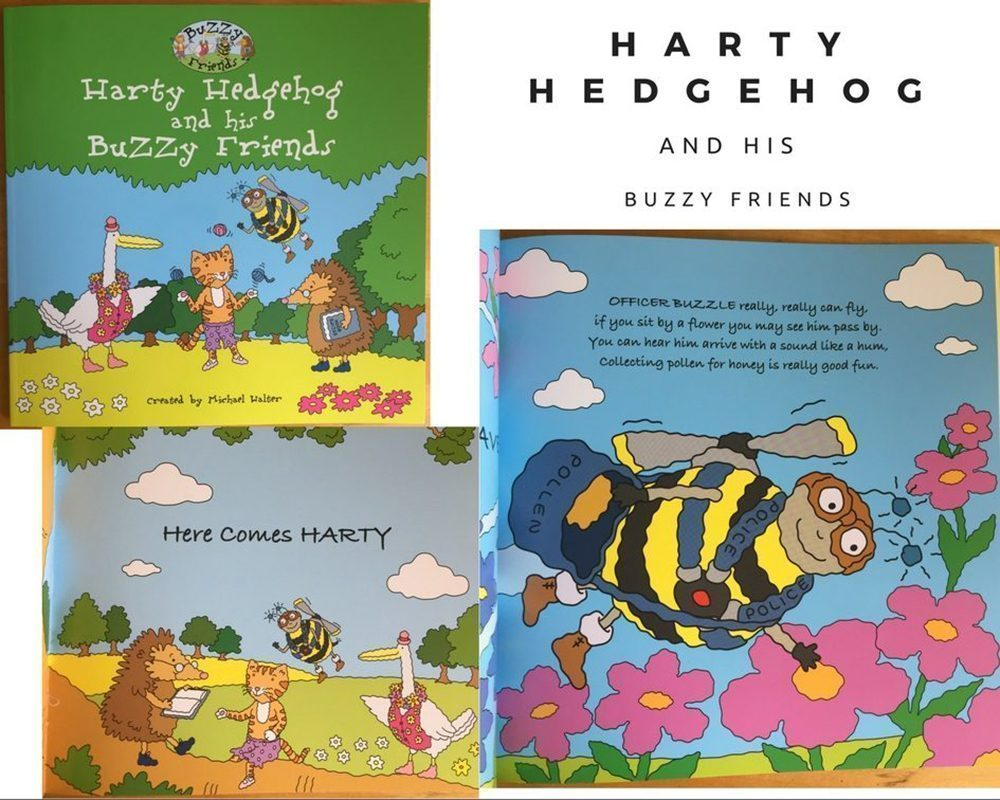Harty Hedgehog and his BuZZy Friends Book Review