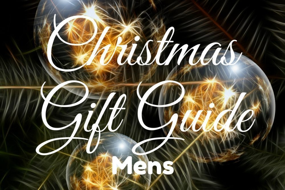 Mens Christmas Gift Guide 2016