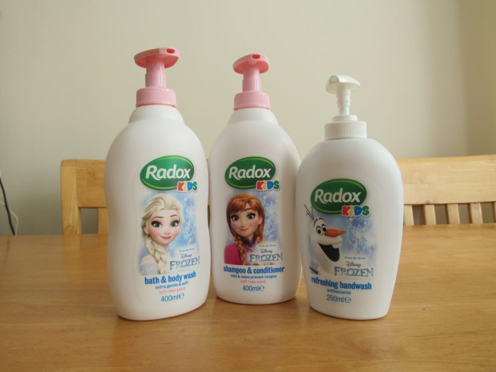 Radox Kids Frozen Range Review