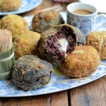 "Le-Rustique-Camembert-""Scotch-Eggs""-Two-Ways-with-Honey-and-Mustard-Dip-2"