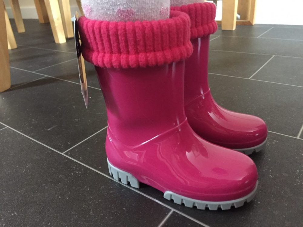 Seeing In Spring with Term Roll Top Wellies