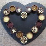 Chocolate Heart chocolates