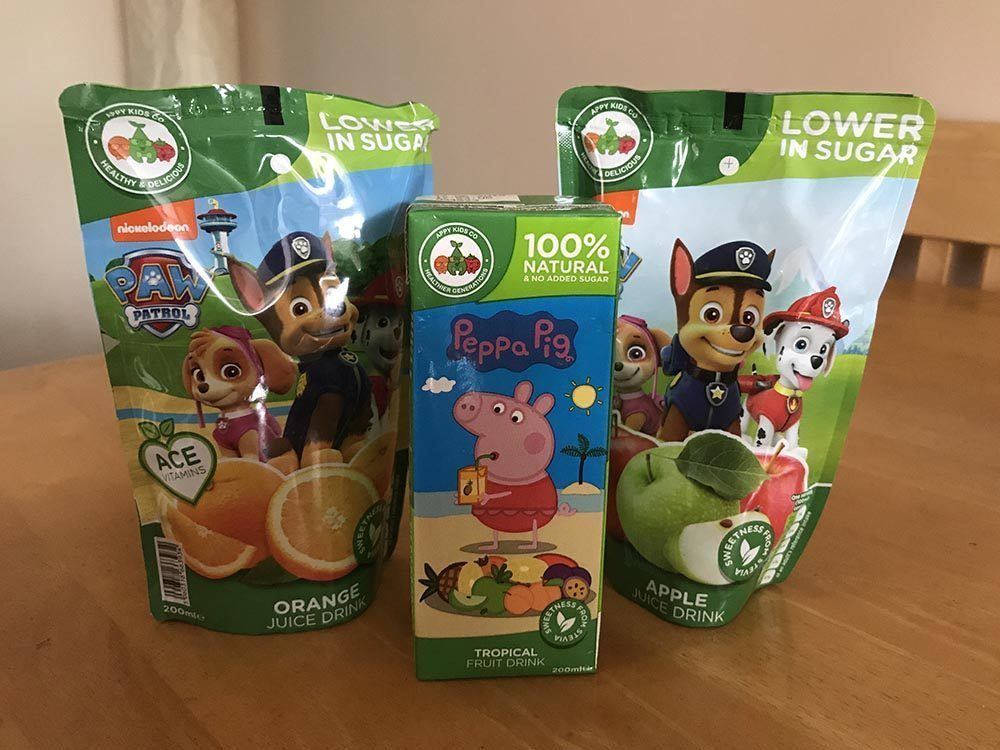 Quenching our Thirst with Paw Patrol & Peppa Pig
