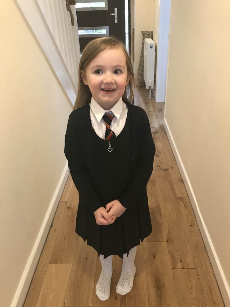 Mia's 1st Week at School Update