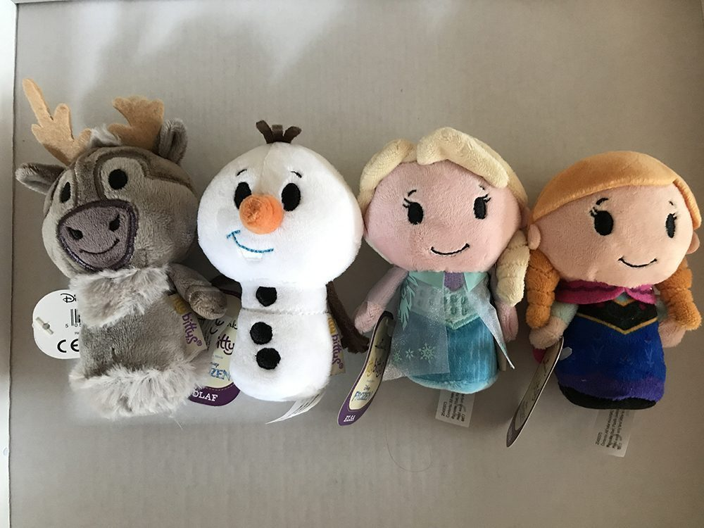 Discovering the Frozen Itty Bitty Range from Hallmark