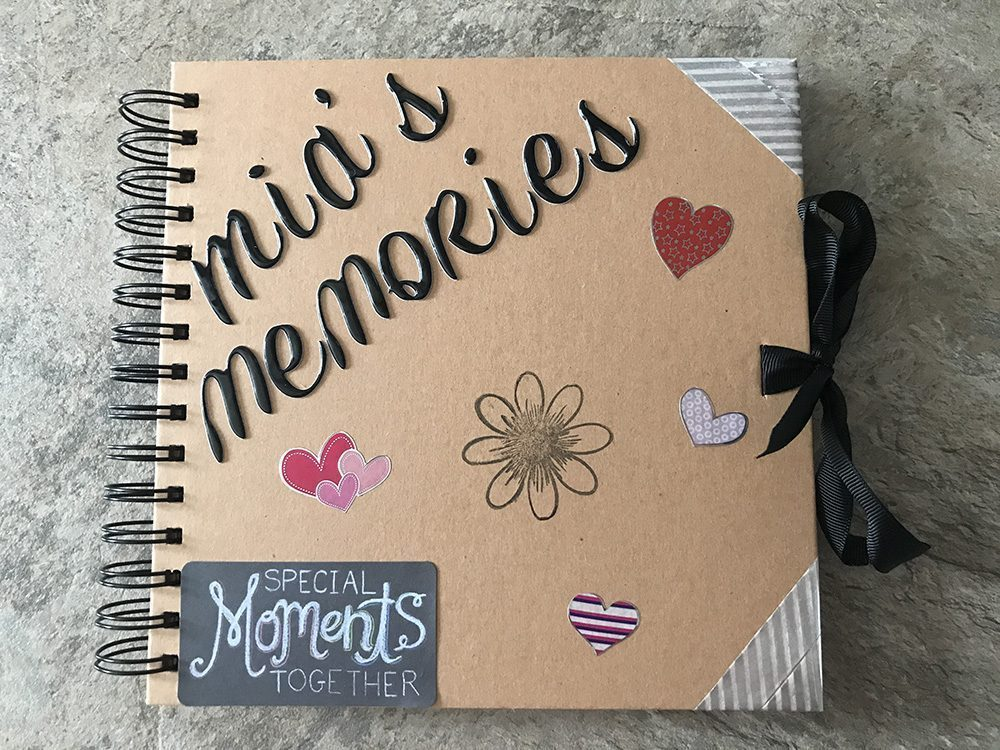 Special Family Memories Stored Forever in a Memory Box