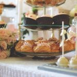 Selection of Afternoon tea Cakes and Scones