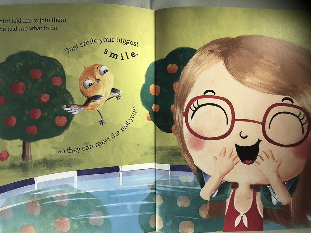 Page from The Big Splash Book