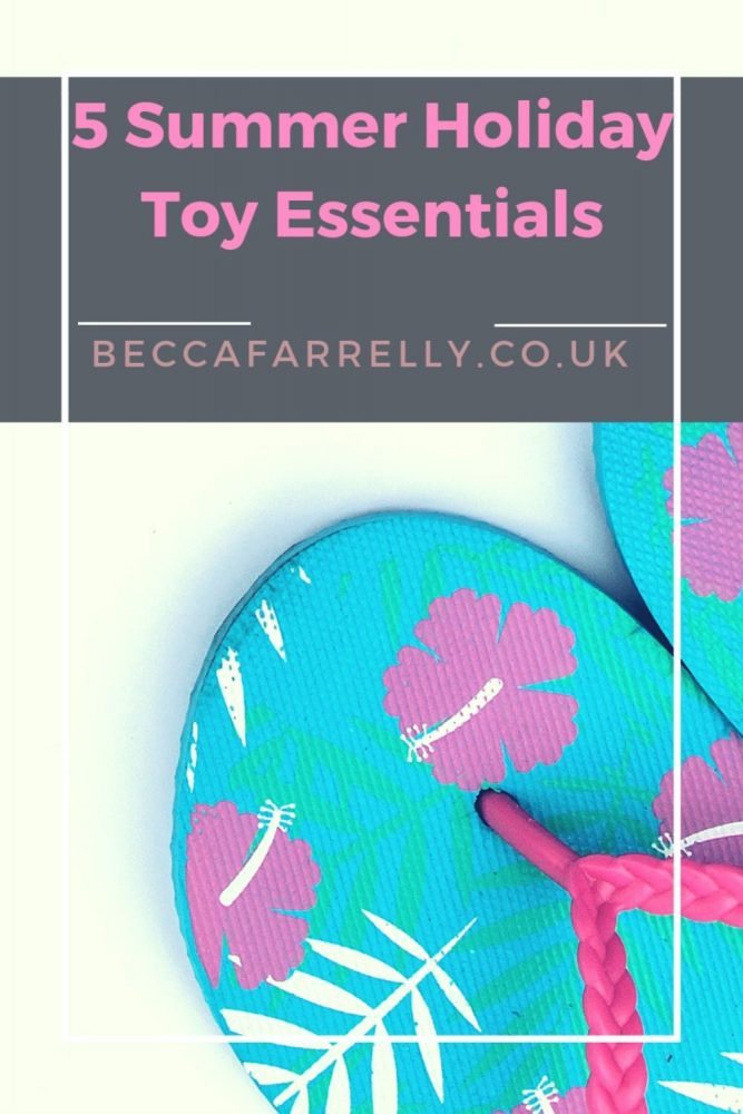 Summer Holiday Toy Essentials Cover Image