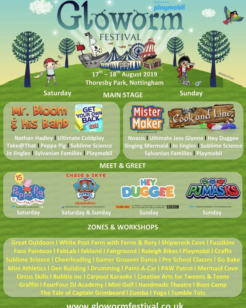 Itinerary for Gloworm Festival