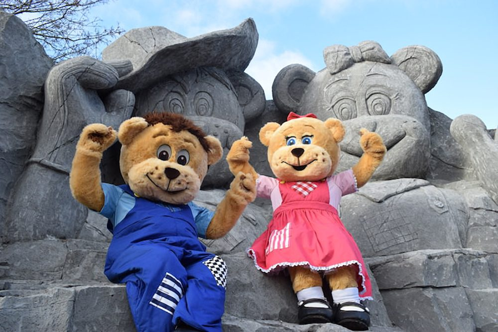 Sundown Bear Mascots