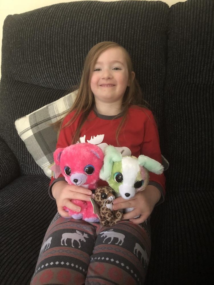 Mia and the lumo stars plush toys