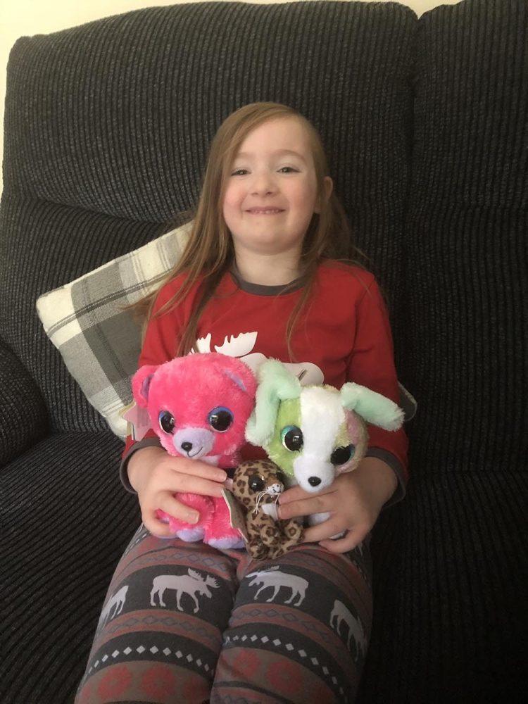 Mia and the lumo stars plush toys