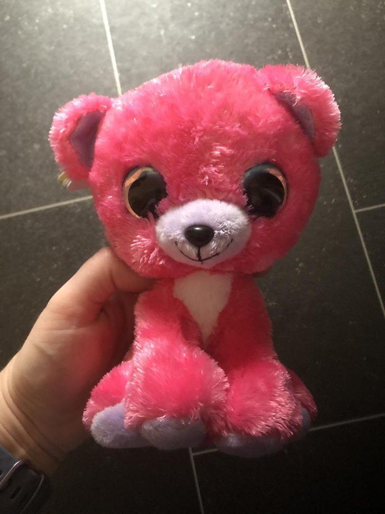Raspberry plush toy
