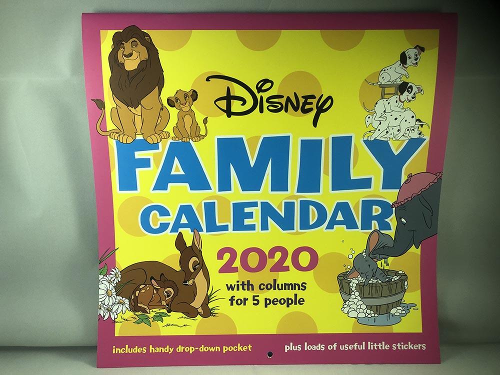 Disney Family Calendar