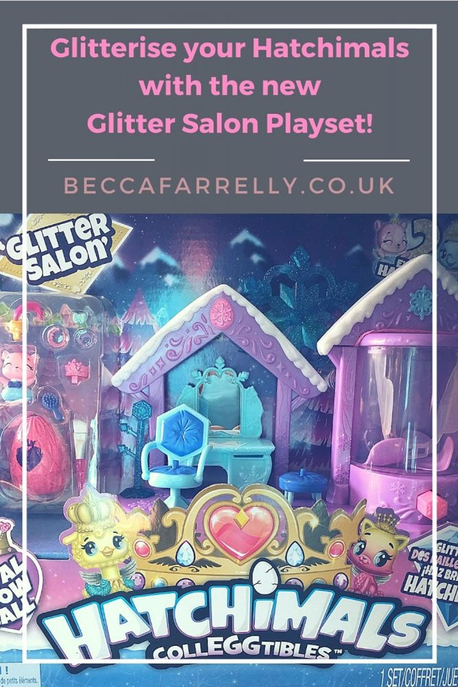 Cover image for Hatchimals Glitter Salon Playset