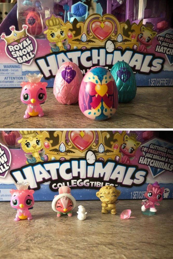 Hatchimal Royal Ball playset