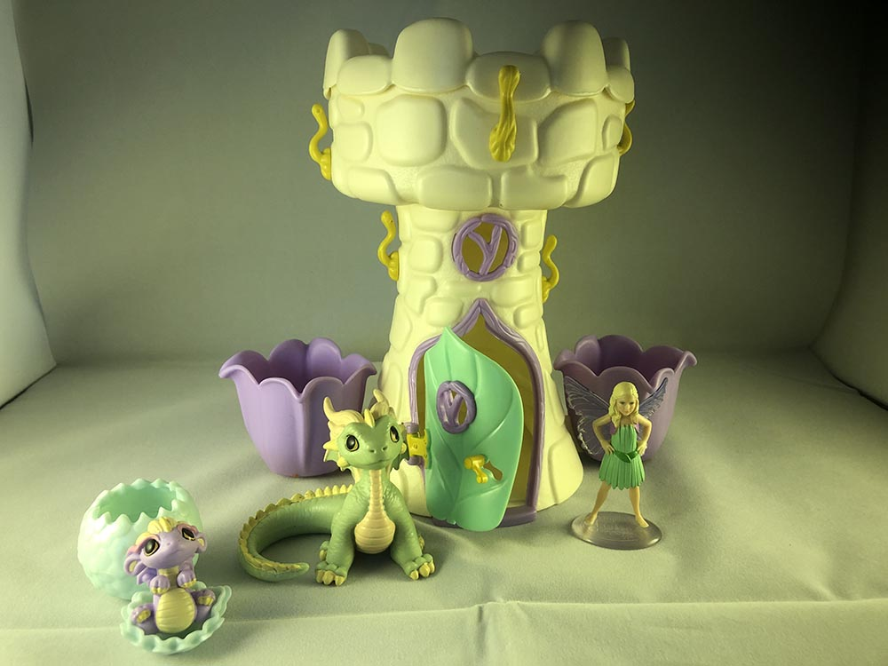Dragons' Tower, 2 dragons and fairy Thea
