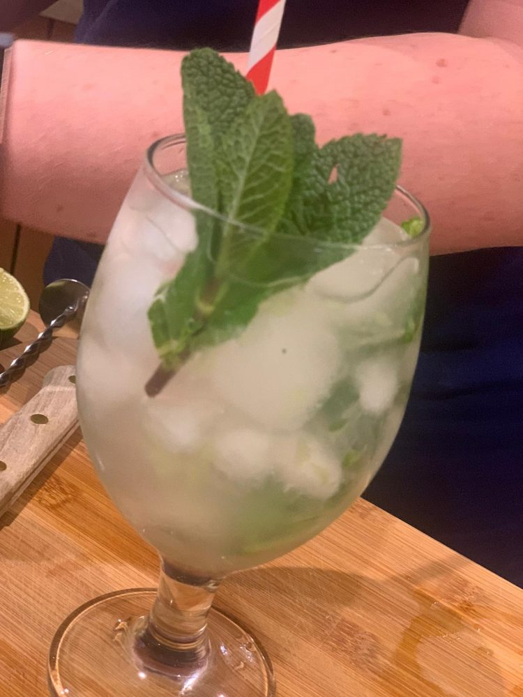Vodka Garden Cocktail