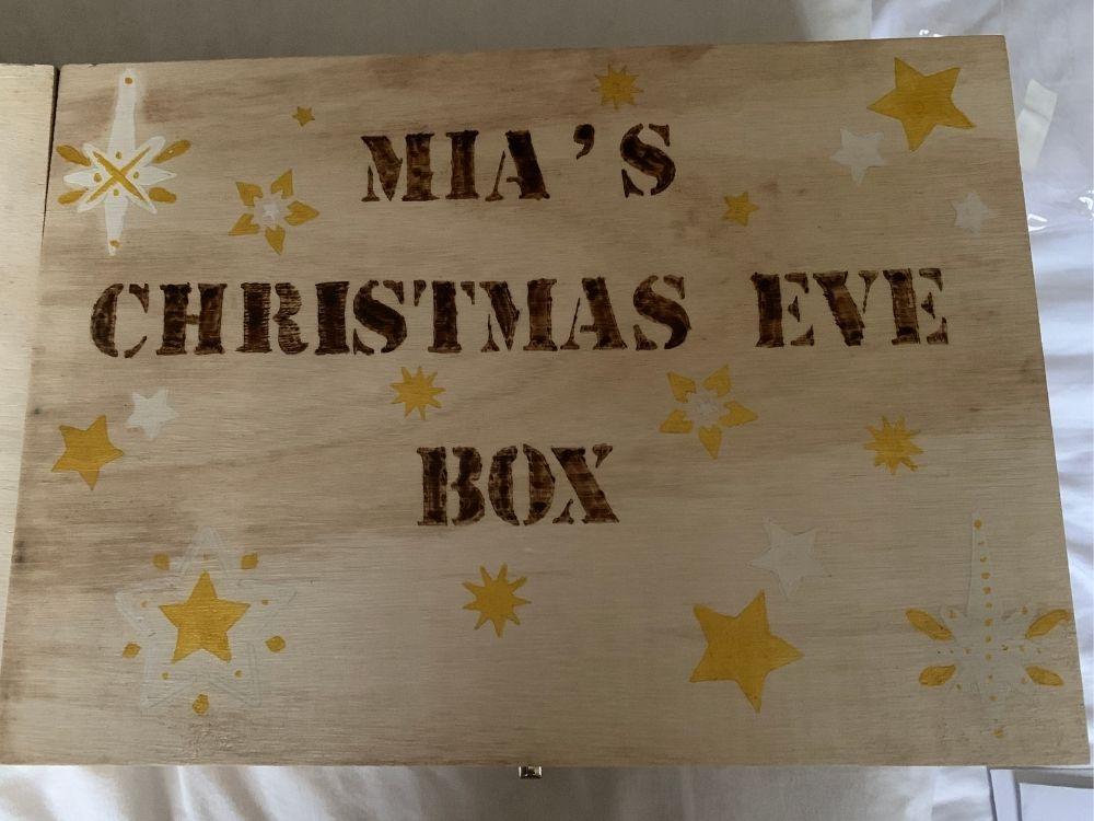 Mia's Christmas Eve Box Contents