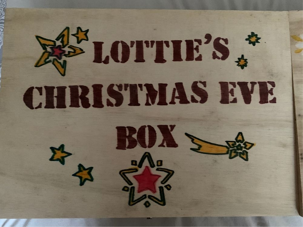 Lottie's Christmas Eve Box Contents