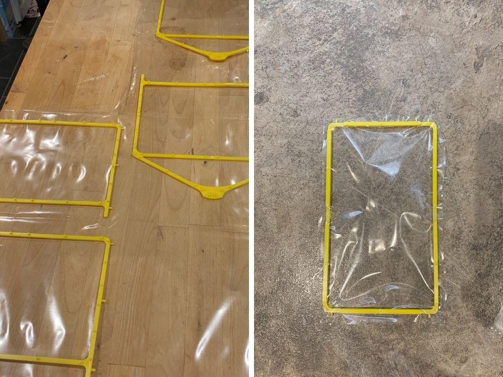 greenhouse flat pack