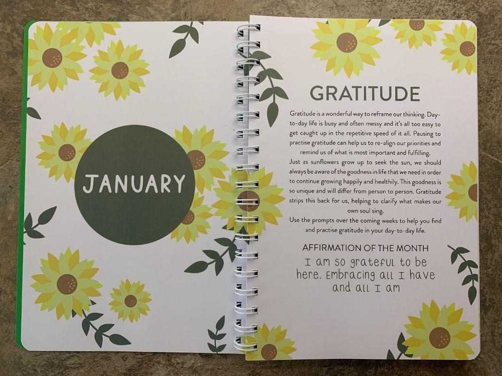 Gratitude theme for Jan