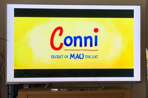 Title screen for Conni and the Cat